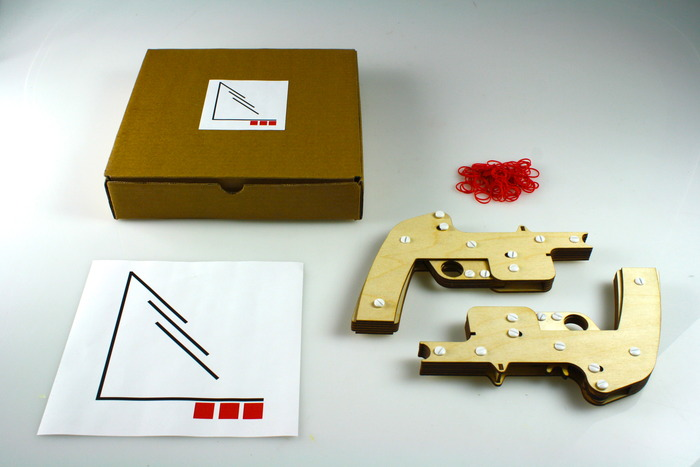 The Palladium Rubber Band Gun Kit