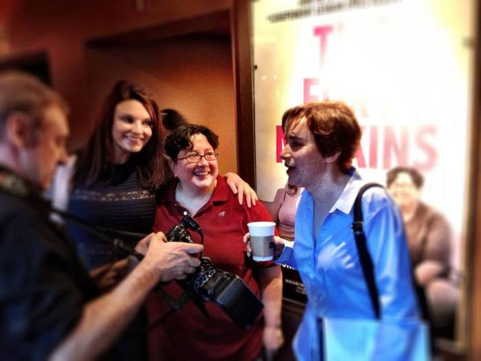 R-L: Director & Co-Writer Madeleine Olnek, Leads & Co-Writers Lisa Haas & Jackie Monahan.