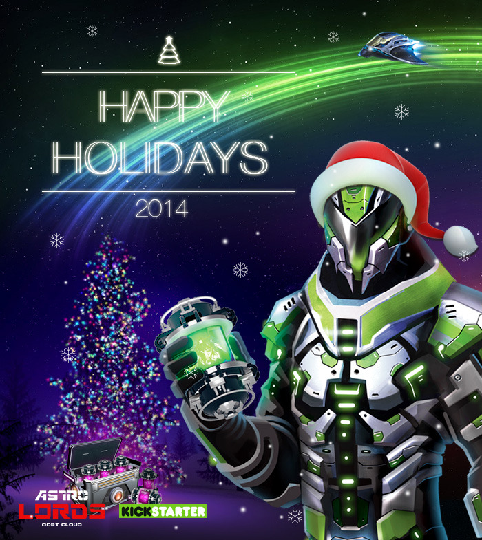 Happy Holidays 2014 from AstroLords!