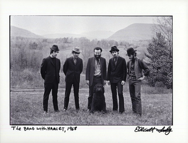 """The Band with Hamlet, 1968."" This 8x10"" Fine Art Pigment print will be included in every Deluxe Limited Edition book."
