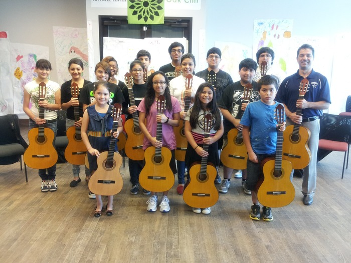 Our La Rondalla Beginners Group, 2013...