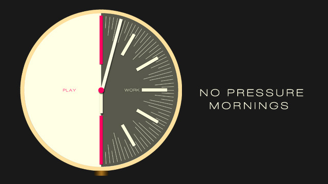 No pressure mornings