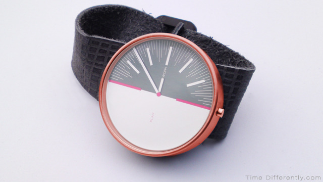 Rose gold stainless steel