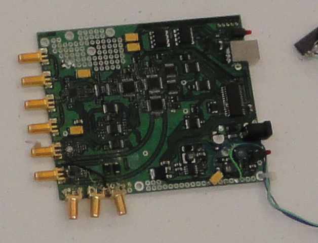 Second proto board of DS800 oscilloscope