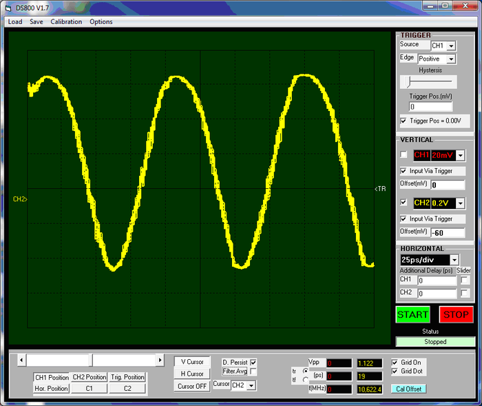 Free runing VCO 10 GHz 1.1 Vpp