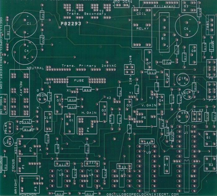 OSC.4.3 pc board