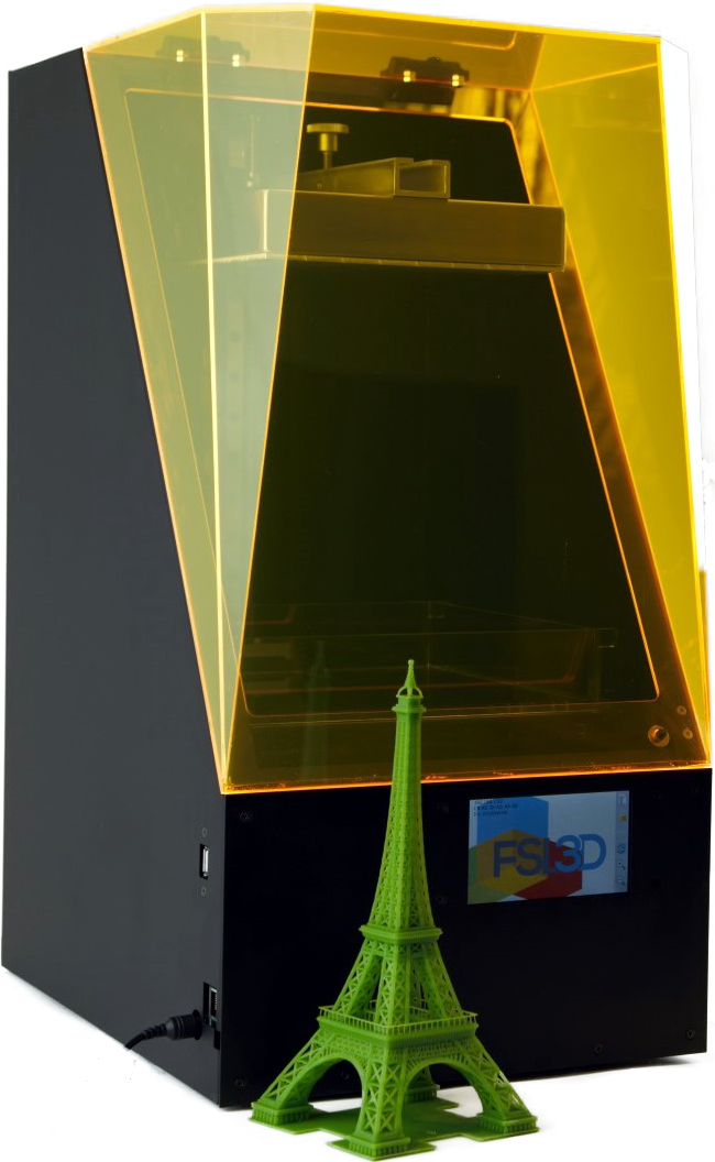 Pegasus Touch: Laser SLA 3D Printer
