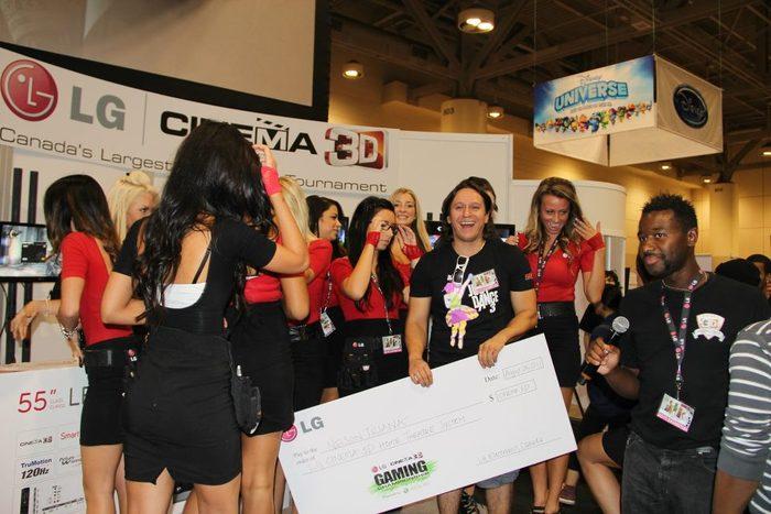 LG 3D Gaming Championship at Fan Expo 2012