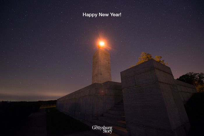 Happy New Year from The Gettysburg Story!