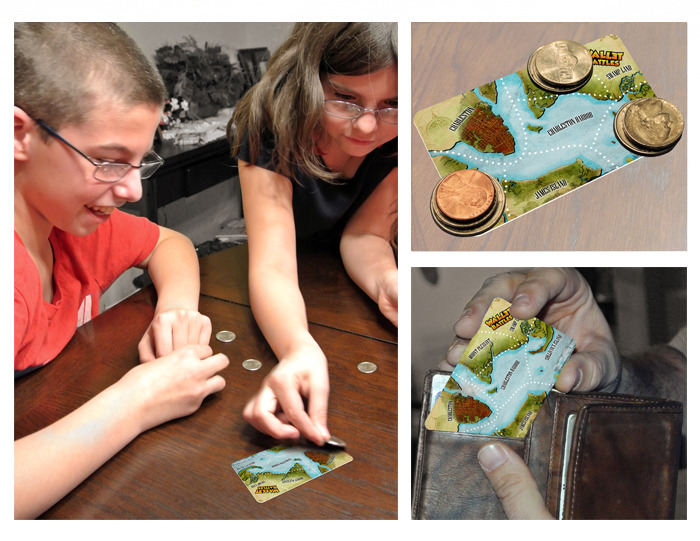Wallet Battles is fun for all ages, very portable and playable anywhere you go!