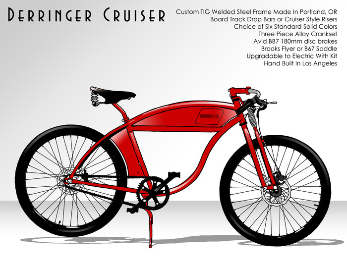 $1800 - Derringer Cruiser Bicycle