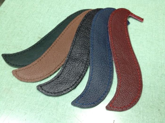 Horses Tails: cut and sewn