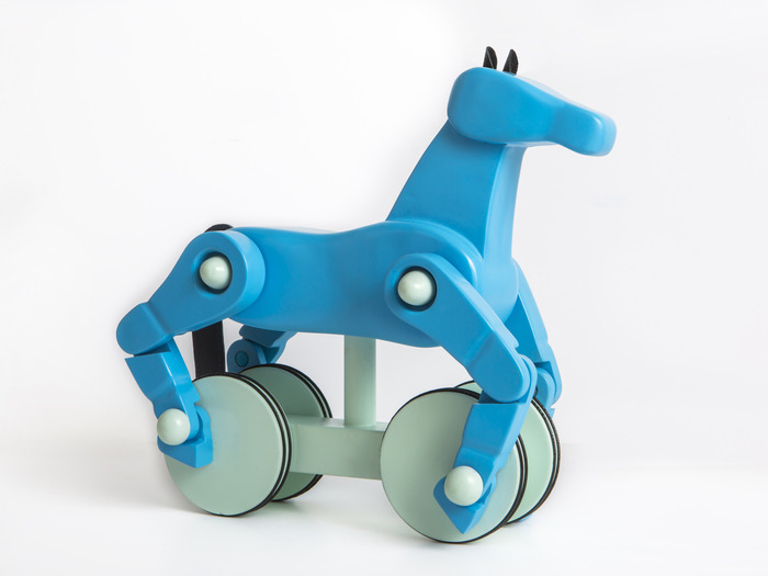 Turquoise & Baby Blue Horse