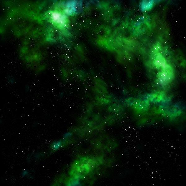Nebula In Green