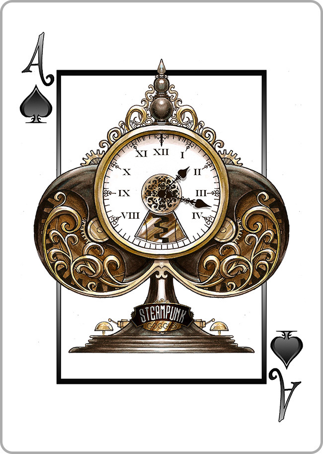 Ace of Spades - The Mechanical Clocktower - CLICK TO PIN