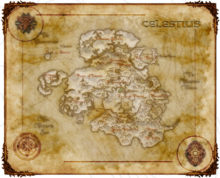 Concept of The Continent of Celestius