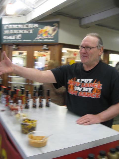 Jim at the market