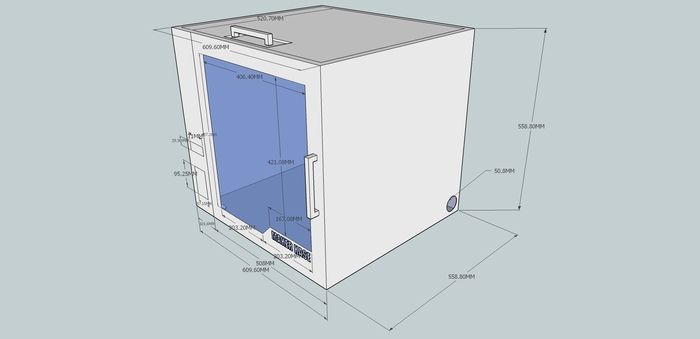 news new universal 3d printing cabinet launched on kickstarter For3d Printing Kitchen Cabinets