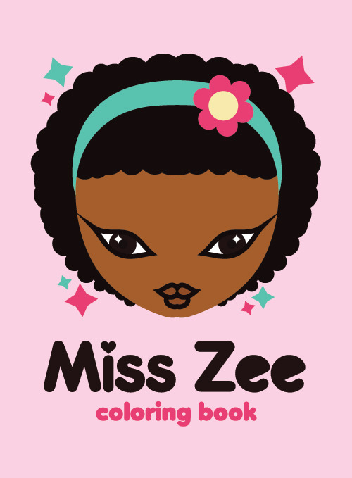 Miss Zee Coloring Book