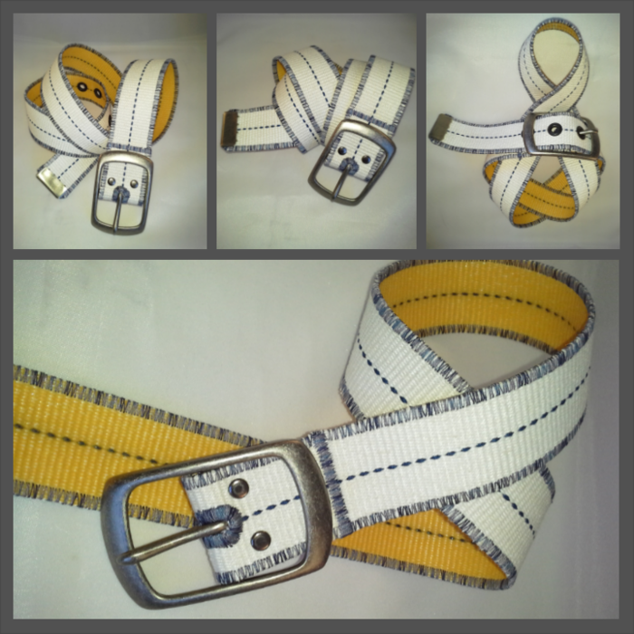 New Belt - WHITE HOT!