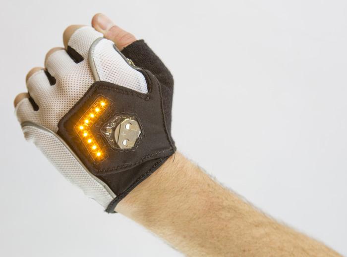 Zackees Turn Signal Gloves By Zach Vorhies Kickstarter