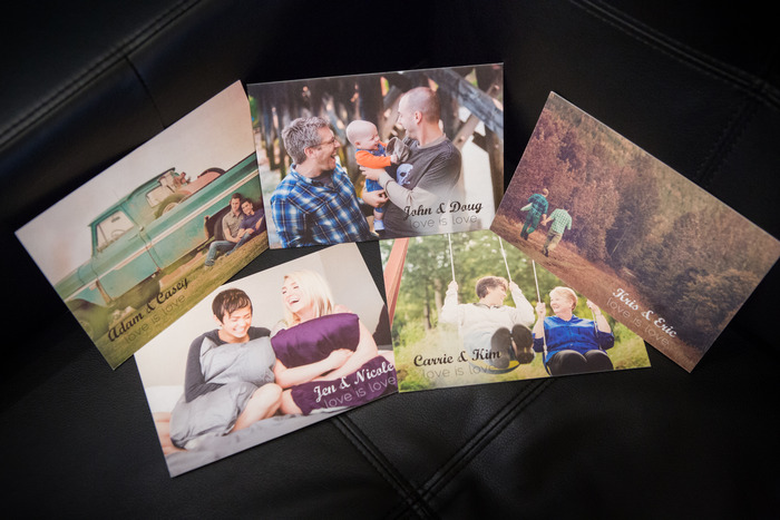 Pack of Five Postcards to send to friends and family