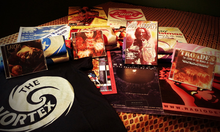 Here is a selection of the awesome, original VORTEX gifts that you will receive when donating to VORTEX:Illuminate!