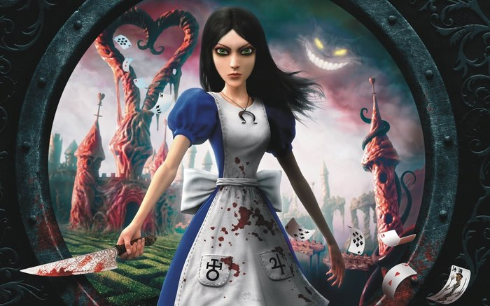American McGee's Alice; Remaking a classic children's narrative