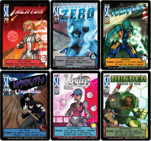 Freedom Six Promo Pack for Sentinels of the Multiverse