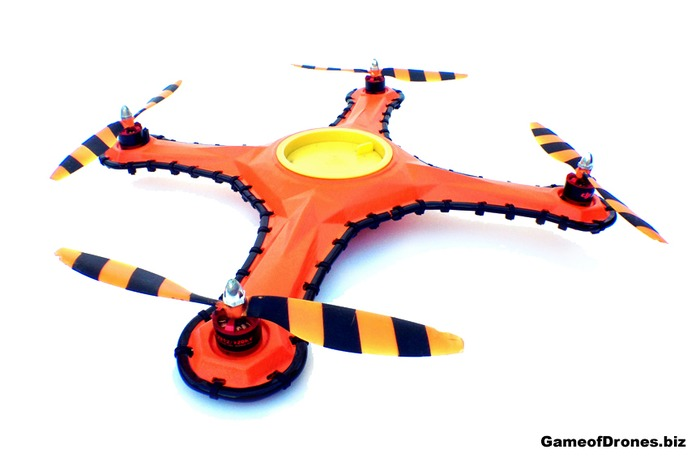 game of drones wicked strong quadcopter frame rc groups