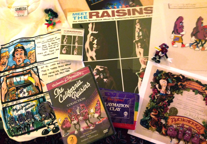 """California Raisins Collectors Package"""