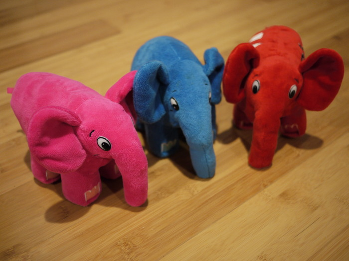Multicolored elePHPants