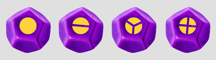The Monty (Marble Purple with Yellow)