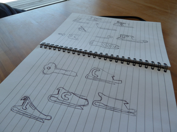 "Everything Starts With The Classic ""Pen and Paper"" Before Being Taken To The More Advanced 2D and 3D CAD Design!"