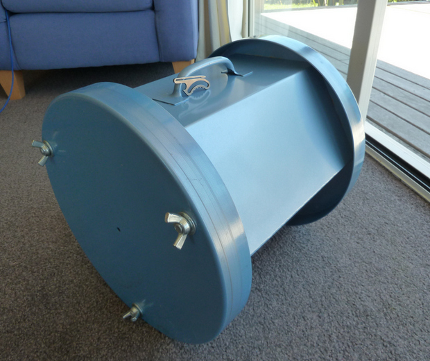 This Is The GIANT 40lb TUMBLER That Gives The Rabbit Its Incredible Finish!