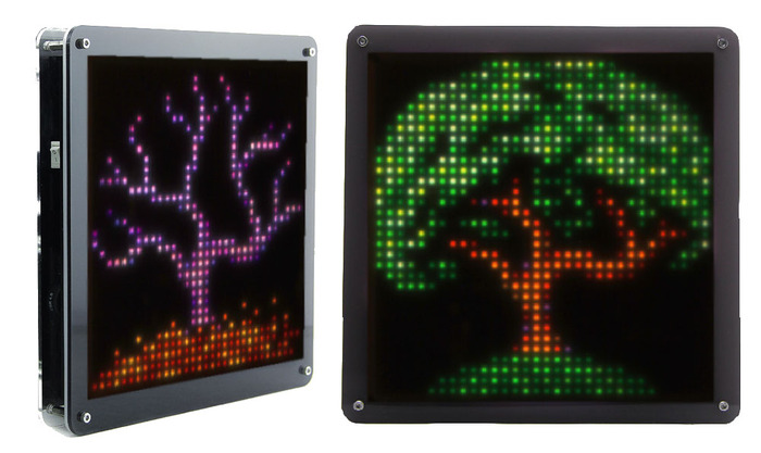 Want 8-bit animated GIFs on your wall? PIXEL: LED art installation ...