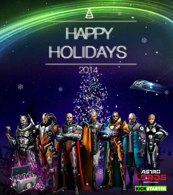 Merry Christmas and Happy New year from Astro Lords!