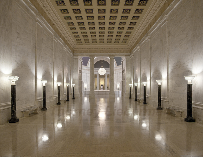 Senate Foyer Looking Toward the House Chamber