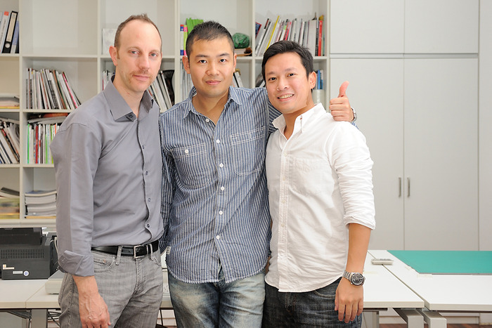 The Sparkbeats Team: Mike, Ted and Tim.