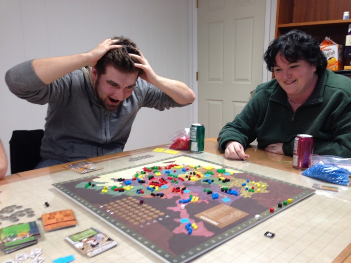 Coming in second in a tightly-contested 5-player game by only 3 points can be a traumatic experience.