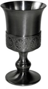Pimp Cup: 8oz, Pewter. Add $125 to your pledge if you want one.