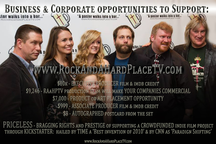Business Owners and Corporate Executives, here are some ideas how you AND your business can help support Rock And A Hard Place!