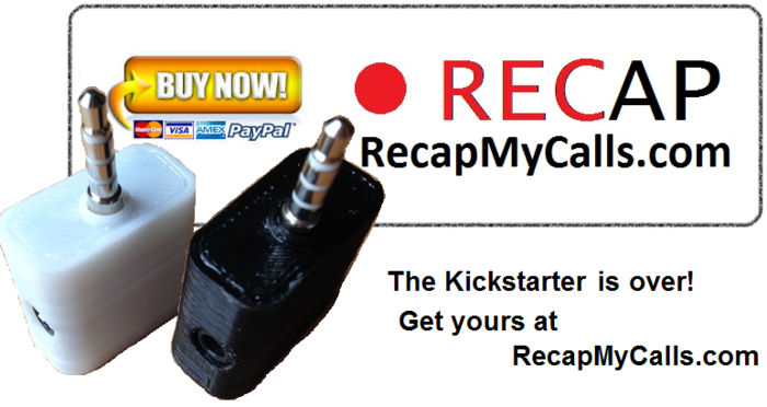 Get The RECAP at RecapMyCalls.com