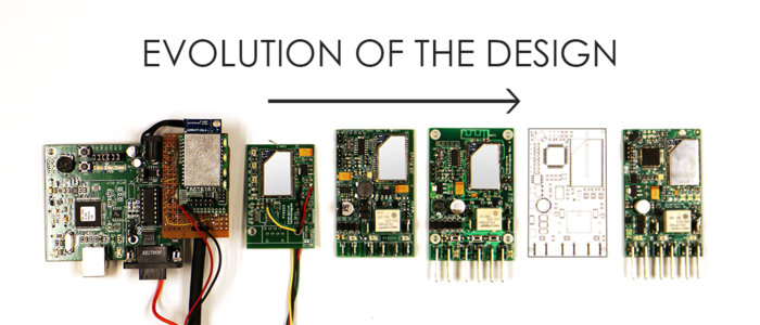See how the My N3RD electronics evolved from the initial prototype to the current design.