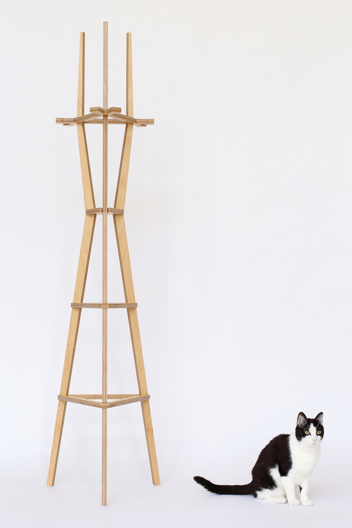 Sutro with a natural finish (Awesome the Cat not included)