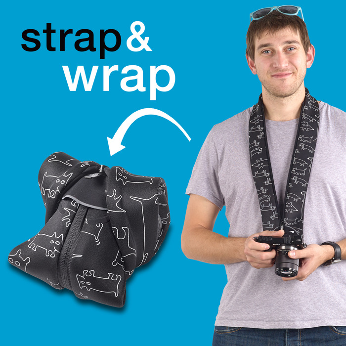 Strap&Wrap  for Mirrorless (CSC) Cameras