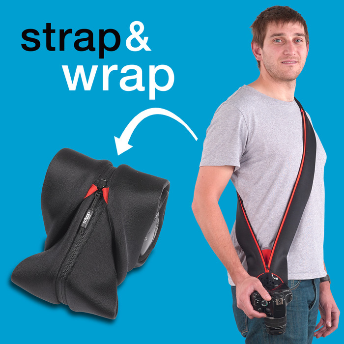 Strap&Wrap for DSLR Cameras