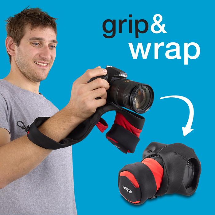 Grip&Wrap for DSLR Cameras