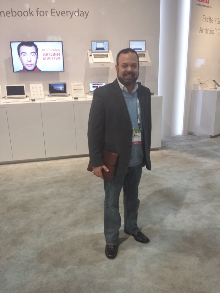 Ryan at CES 2014