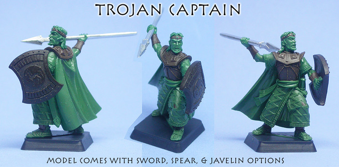 Trojan Captain sculpture